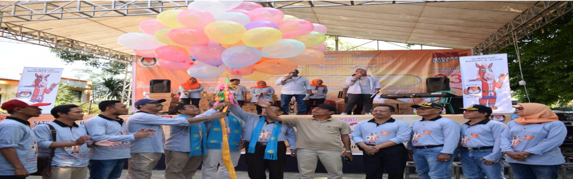 Launching Tahapan Pemilihan Bupati dan Wakil Bupati Dompu Tahun 2020